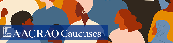 AACRAO Caucus Email Banner