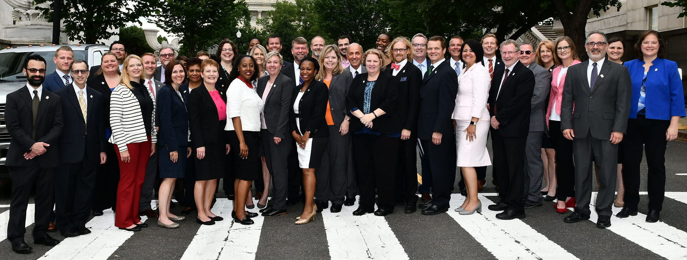 AACRAO members on Hill Day 2018