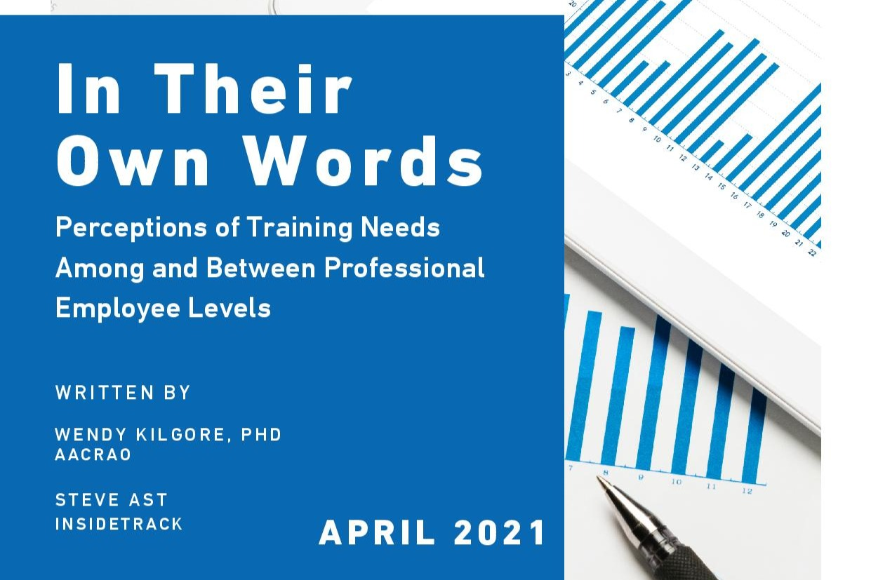 In Their Own Words: Perceptions of Training Needs Among and Between Professional Employee Levels