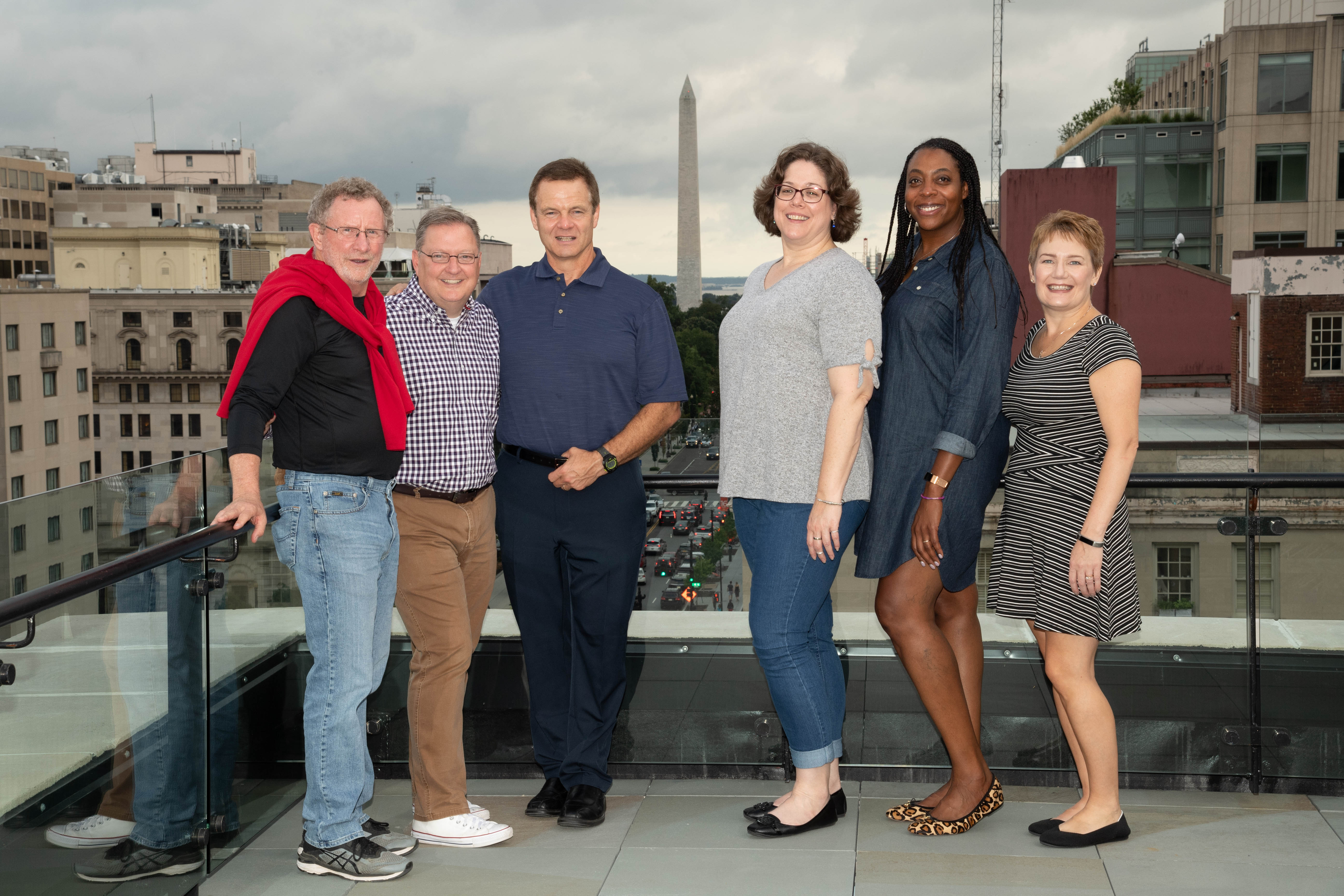 Board Members on the Rooftop